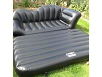 Brand new double inflatable sofa bed