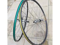 700c Road bike racing wheels 700c quick release mavic open pro and alex rims wheelset