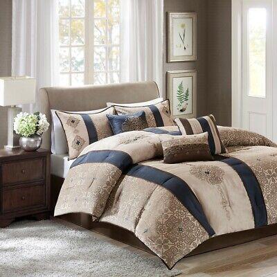 Madison Park Donovan King Size Bed Comforter Set Bed in A Ba