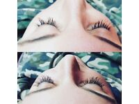 Beautiful Lashes by Evey .Individual eyelash extensions. Now available at H2O salon in Forest Hill.