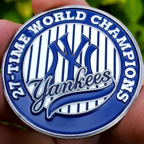 PREMIUM Champions New York Yankees Poker Card Guard Chip Protector Golf Marker