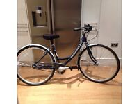 Single speed bike with basket for sale - pretty much new!
