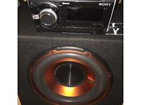 Sony wx900bt and active sub needs sub wiring kit