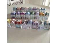 Set of 24collectable spice houses