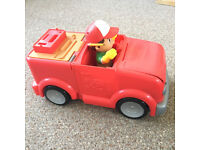 Handy Manny Transforming Tool Truck Toy + Handy Manny figure + Tools - £10 - Collect S Bham/N Worcs