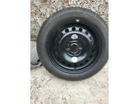 Kia Rio spare wheel