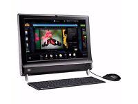 "HP Touchscreen Computer, Windows 10, Large 22"" widescreen, Microsoft office ,"