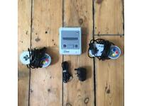 SNES Super Nintendo classic mini as new plus accessories