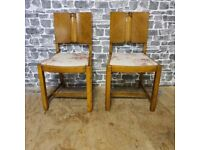 2x Antique Chairs