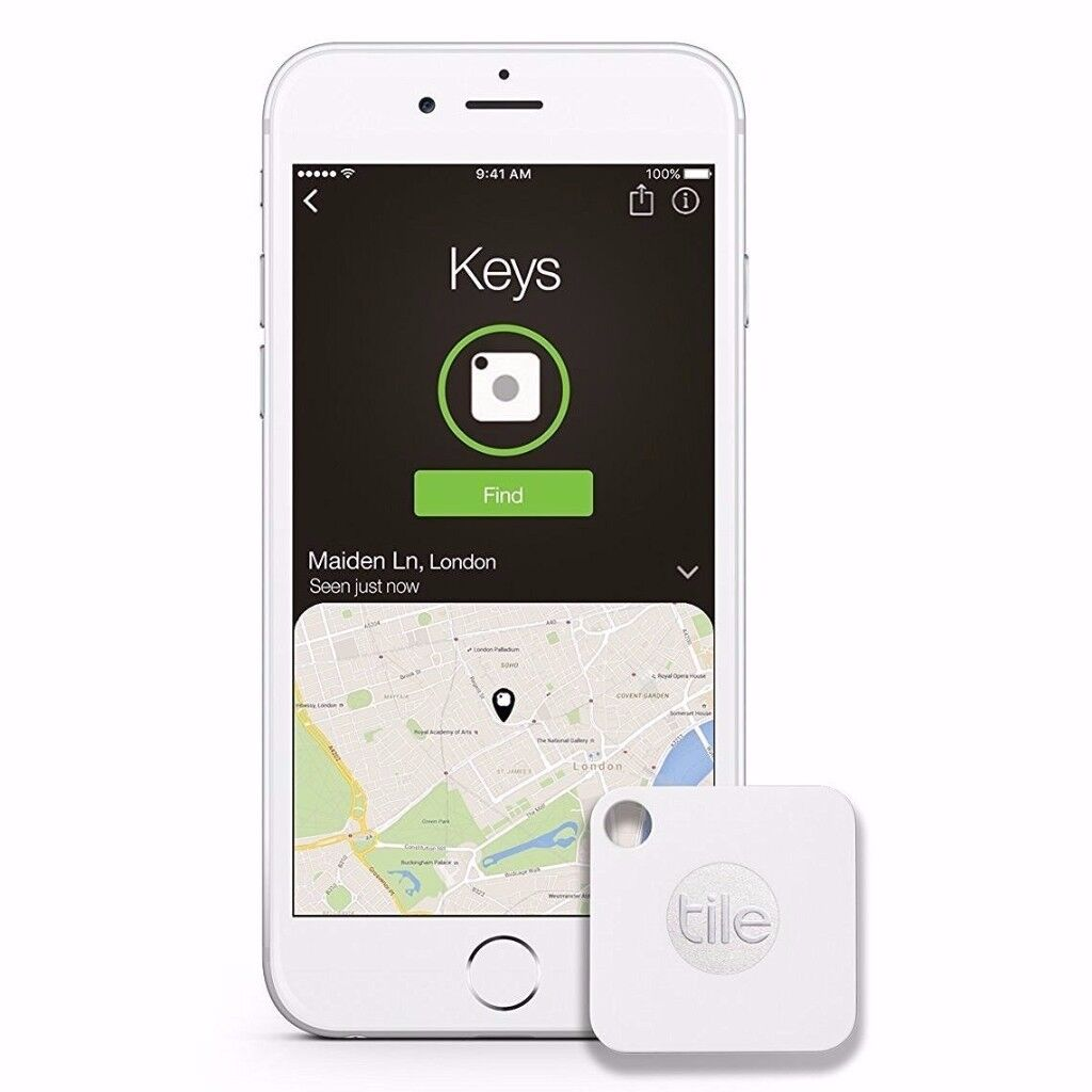 Tile Mate - Key Finder. Phone Finder. Anything Finder - 4pack RRP £89.99