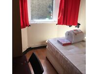 bright double room to let @E13 9DA all bills inclusive excellent location near station available now