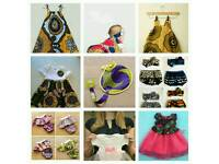 Beautiful handmade/tailored baby clothing and accessories