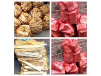 good dry firewood/kindling net bags £3.00 free local del over £10