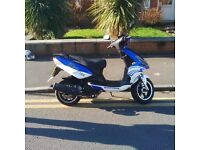 2014 Nipponia Dion 125 Scooter / Moped - 12 months MOT