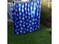 Chelsea FC Curtains - Excellent Clean Condition