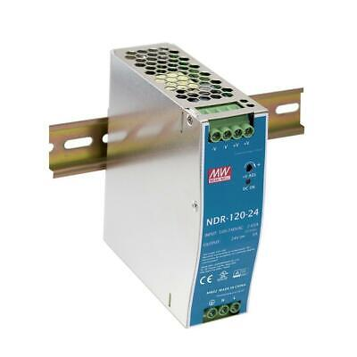 Mean Well Ndr-120-24 Power Supply Output 24v 5a 120w Din Rail Mount