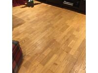 Up to 50 Square metres of Solid Oak Flooring