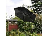 Garden patio parasol