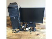 Desktop Computer & Monitor for sale  Highland