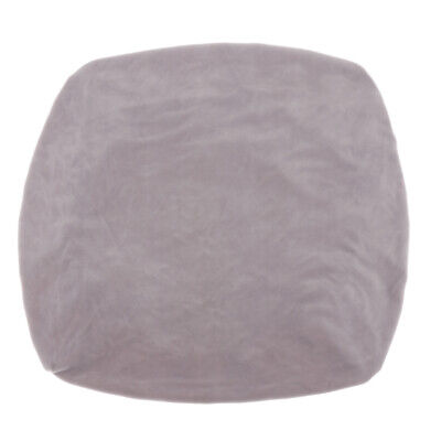 Velvet Stretch Chair Seat Cover Protector with Ties Office C