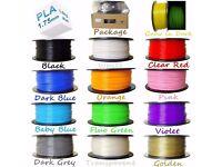 Filament PLA 1.75/3.00mm ABS 1.75mm/3mm 3D Print Pen Printing Material 3D Printer 1kg /roll