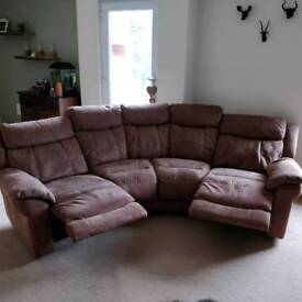 Electric Recliner 4 Seater Sofa