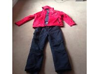 Men,s ski jacket and salopets Xxl