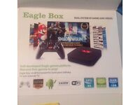 Eagle Box/Android box Loads Of Games
