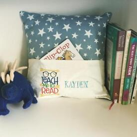 Children's reading pillows - gift ideas!