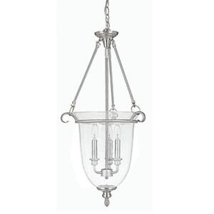 Capital Lighting 9310MN Foyer with Seeded Glass Shades, Matte Nickel Finish NEW ** 5 CORNERS FURNITURE**