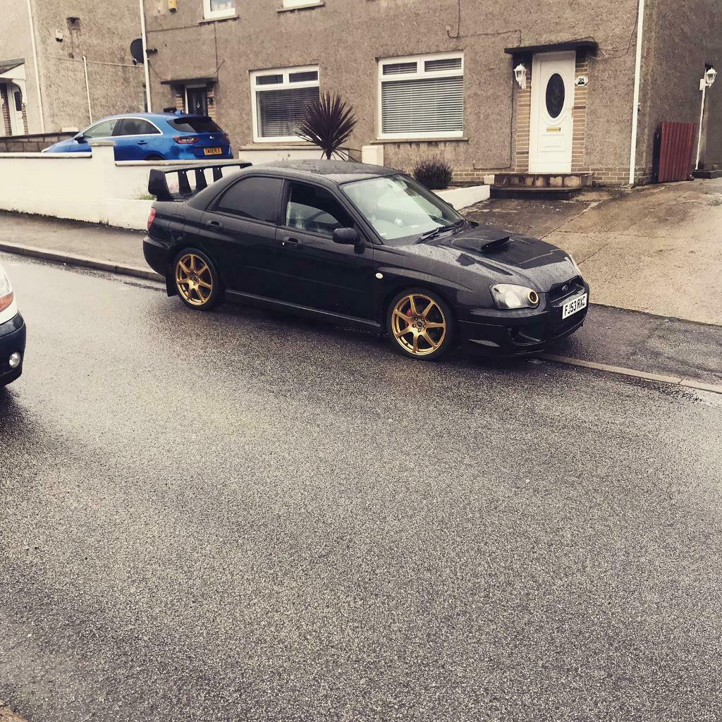 2004 Subaru Impreza Wrx 2.0 Turbo Sti Looks May Swap Or Px