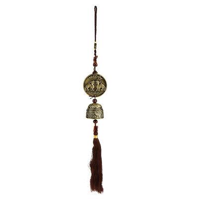 Windspiel Feng Shui Dragon Bell Charme Indoor Outdoor hängenden Dekor