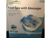 Foot spa massager, never used it