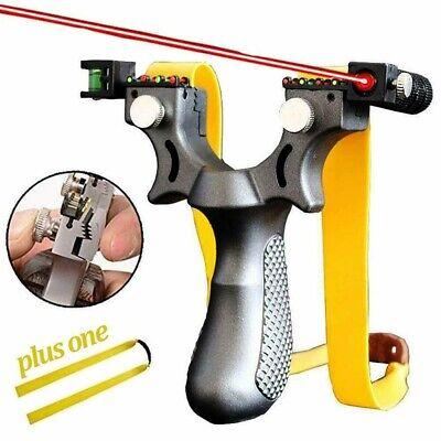 Laser Aiming Professional Shot Catapult Slingshot Sling for Outdoor Hunting