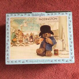 SPODE 'Paddington Bear' Mug and Plate Set
