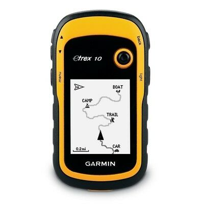 Garmin eTrex 10 Handheld Outdoor Hiking GPS Receiver BRAND NEW 010-00970-00](garmin etrex gps receiver)
