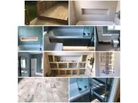 carpentry, tiling plumber Landscaping plastering decorating