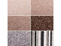 large selection of full roll & roll end carpets from £50