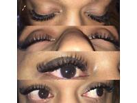 Eyelash extension/ Eyelash lifting (LVL)