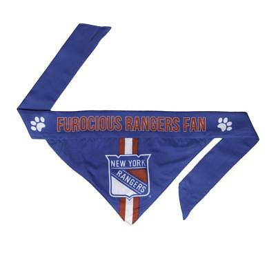 New York Rangers Large Pet Bandanna [NEW] NHL Dog Puppy Collar Clothes