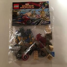 Lego 6865 Captain America's Avenging Cycle