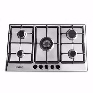 """BRAND NEW Ancona Elite 5-Burner Gas Cooktops (Available in 24"""", 30"""" or 34"""")"""