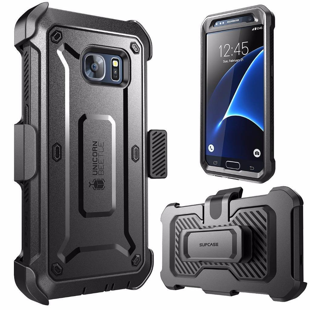 Samsung Galaxy S7 Case, SUPCASE Full-Body Rugged Holster Cov
