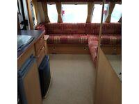 Caravan Elddis avante 540 /4 berth 2006 model fixed end bed vgc