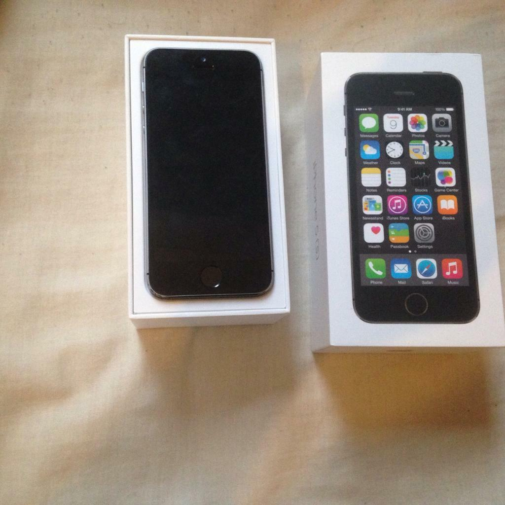 APPLE IPHONE 5S 16GB GOOD CONDITION FULLY BOXEDin Bolton, ManchesterGumtree - Apple iPhone 5s 16gb . On vodafone,talktalk, lebara . Good condition. Comes with box and charger. Fully working