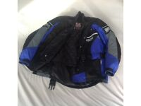 Ladies new motorbike Jacket ,trousers,boots,gloves and full face helmet - all items never worn