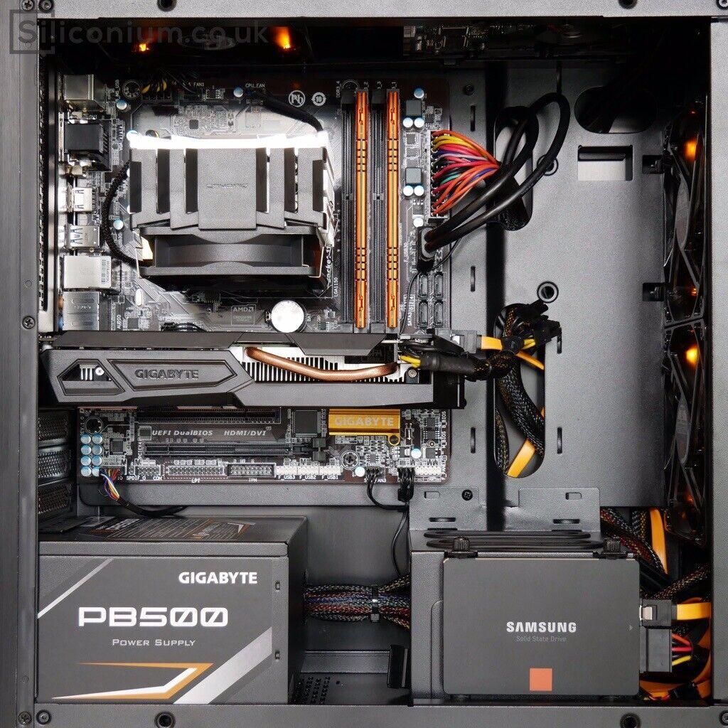 GAMING PC: Core i5-4460 / GTX 1050 Ti 4GB / 16GB DDR3 / SSD 256GB / Air  Cooling + Orange LED / | in Meadowbank, Edinburgh | Gumtree