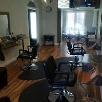 New Salon - chair rentals available