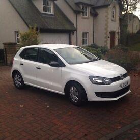 Volkswagen Polo White 5 door 1.2 Lt