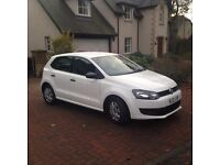 Volkswagen Polo White 5 door 1.2 Lt
